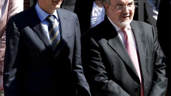 Zapatero y Solbes, en una foto de archivo (Foto: Efe).