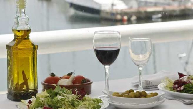 Un ejemplo de la dieta mediterránea (AGENCIAS).