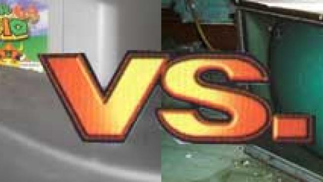 Videojuegos vs. televisión.