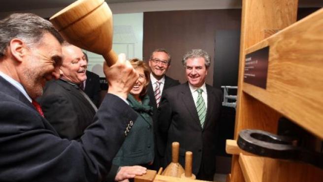 El ministro de Cultura visita las instalaciones.