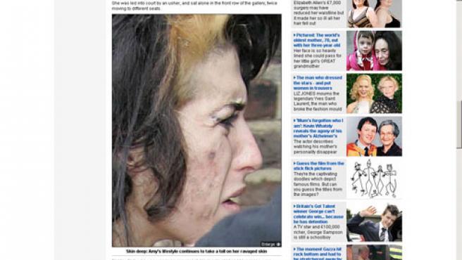 Amy Winehouse (FOTO:MAILONLINE)