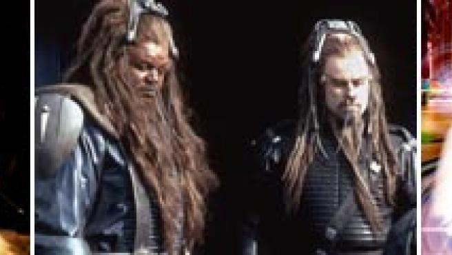 De izquierda a derecha: 'Eragon', 'Campo de batalla: La Tierra' y 'Speed racer'.