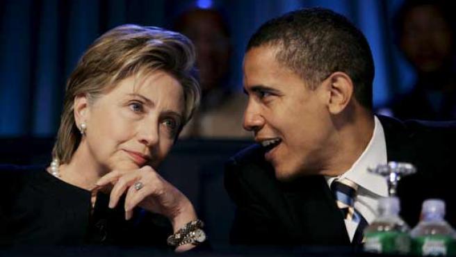 La victoria de Obama en las primarias del Partido Demócrata, de la ...