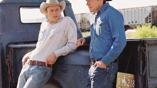 Imagen de la película 'Brokeback Mountain'.