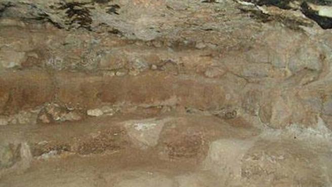 Imagen del hallazgo arqueológico (The Jordan Times)