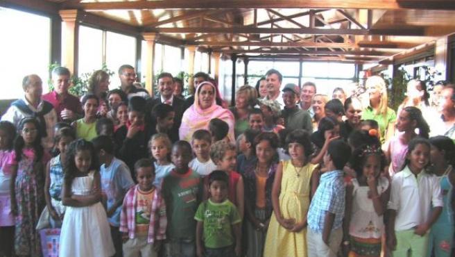 Visita de un grupo de saharauis el verano de 2007. (ARCHIVO)