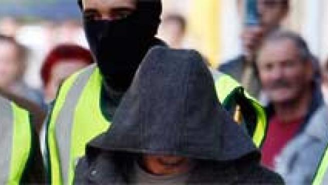Detención de islamistas en una operación anterior.