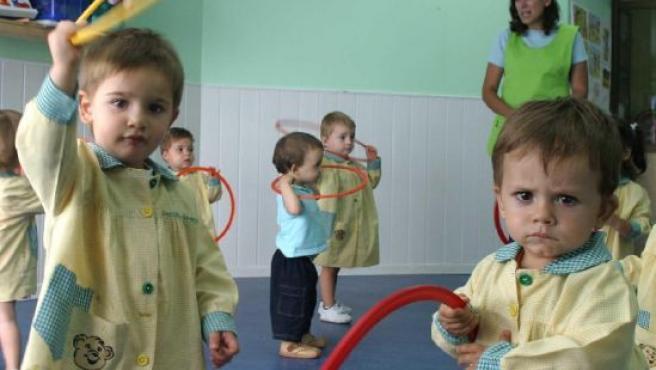 Un grupo de niños en una guardería. (ARCHIVO)