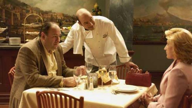 Fotograma del capítulo de hoy de 'Los Soprano'.