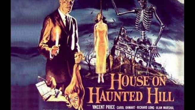 Cartel de la película 'House on Haunted Hill' (William Castle, 1959).