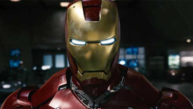 Robert Downey Jr. en 'Iron Man'.