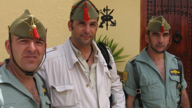 En el Sábado Legionario de Ceuta.