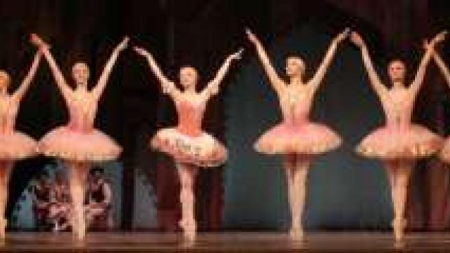 Una escena del ballet.