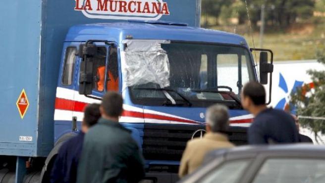 Paro de trnasporte de mercancías(ARCHIVO)