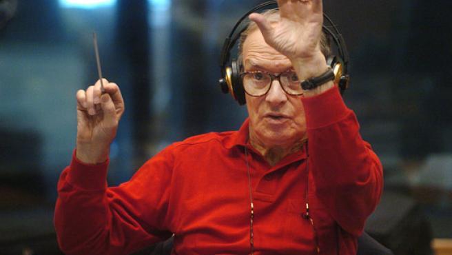 El compositor Ennio Morricone en una imagen de archivo.