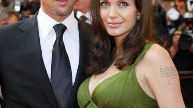 La pareja a su llegada al 61edición del festival de Cannes.