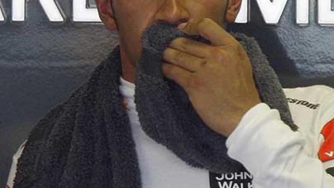 Lewis Hamilton. Archivo.