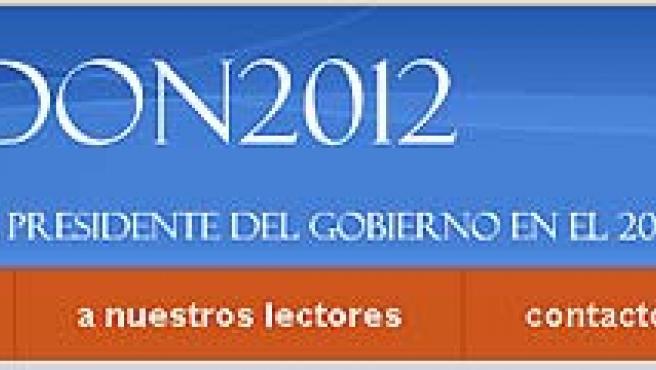 Gallardón tiene en internet una web que le apoya como candidato a la presidencia del Partido Popular. (www.gallardon2012.com)