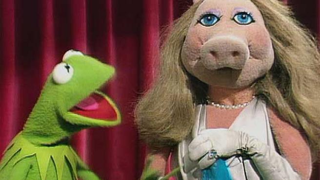 La rana Gustavo y la cerdita Peggy, dos de los protagonistas de 'Los Teleñecos'.