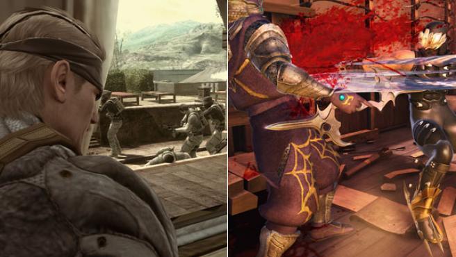 'MGS4' y 'Ninja Gaiden II' están sufriendo problemas de distribución.