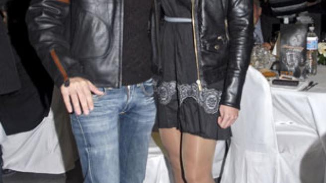Risto Mejide y Aída Blanco, en una entrega de premios en noviembre de 2007 (Foto: Korpa)