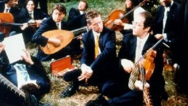 La formación utiliza instrumentos de época en sus conciertos.
