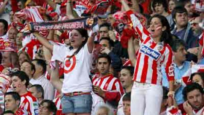 La afición del Sporting quiere vibrar también en primera.