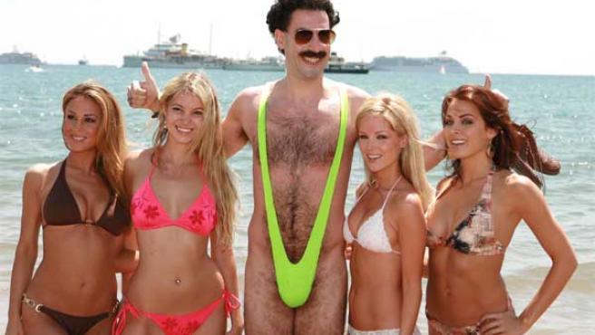 Sacha Baron Cohen, en 'Borat'.