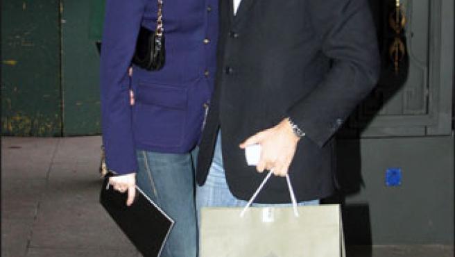 La pareja, en una imagen de archivo.