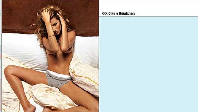 Gisele Bundchen en GQ (FOTO:GQ)