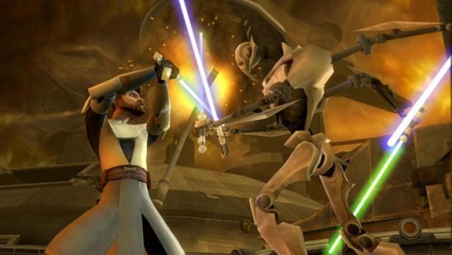 'Star Wars: The Clone Wars' para Wii.