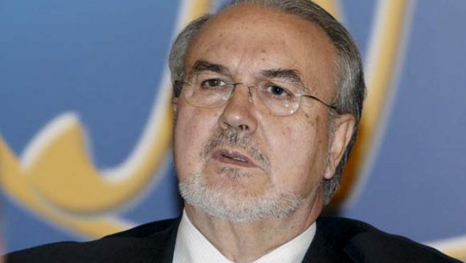 Pedro Solbes, durante el Fórum Nueva Economía (EFE).