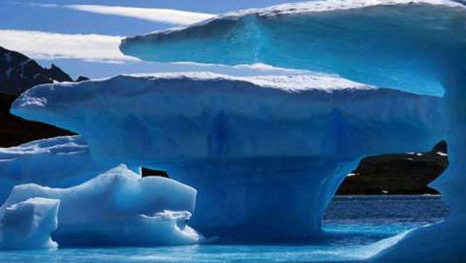 El cambio climático acelera el deshielo en Groenlandia (ARCHIVO).
