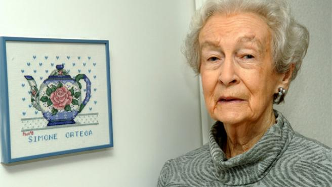 Simone Ortega, en una imagen tomada en 2006. (Foto: EFE).