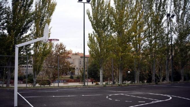 Una pista deportiva al aire libre. (ARCHIVO)