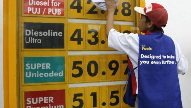 El petróleo sigue batiendo récords.