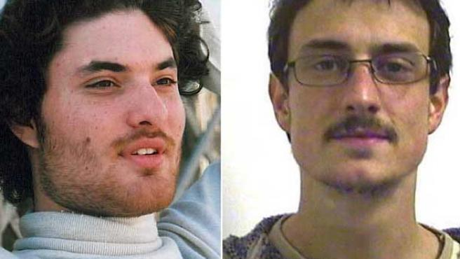 Laurent Bonomo (i) y Gabriel Ferez (d), los dos estudiantes franceses asesinados en Londres el 29 de junio. (CNN / AFP)