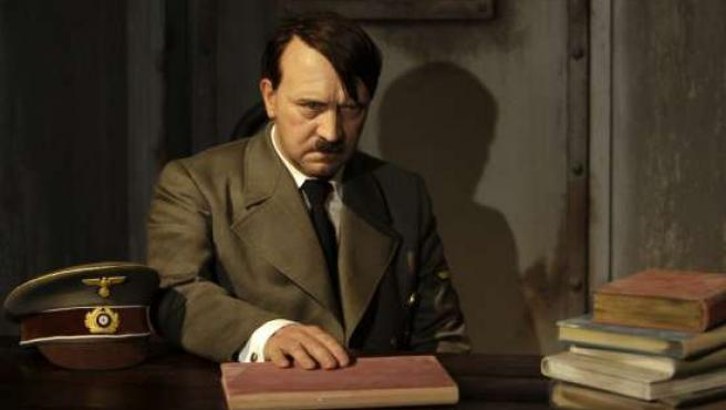 La figura de cera de Adolf Hitler en el museo Tussauds de Berlín. (REUTERS)