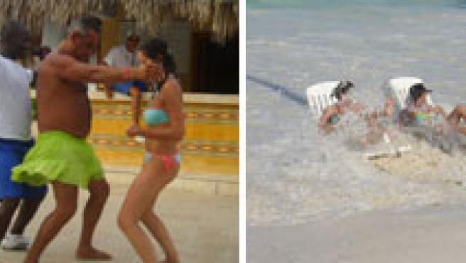 Cuatro fotos enviadas por los lectores de sus veranos.