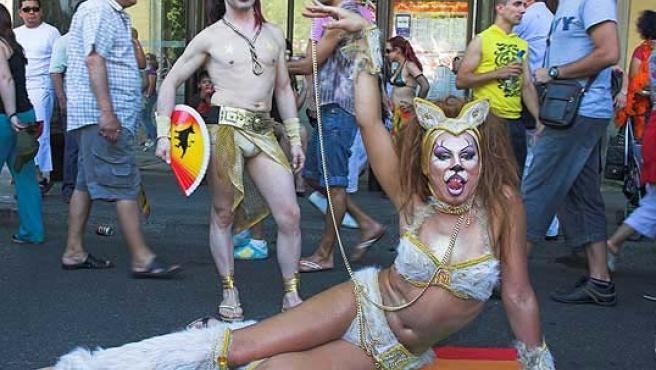 Manifestación Orgullo Gay en la pasada edición.