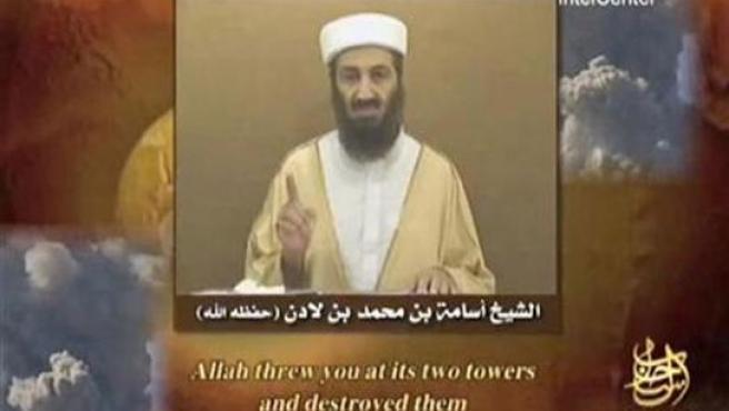 Bin Laden, en un vídeo emitido en octubre (Foto: Reuters).