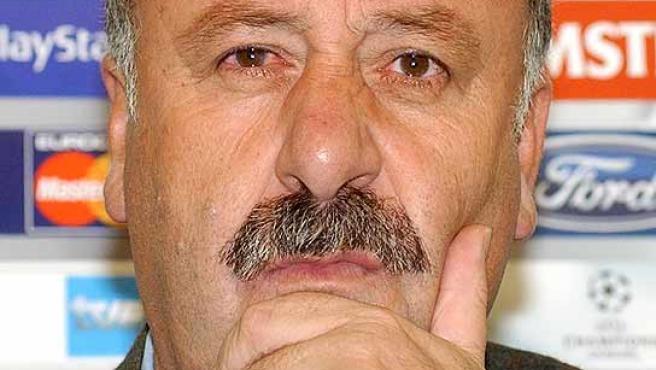 El entrenador Vicente del Bosque. (Archivo)