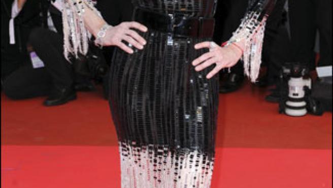 Madonna, en una imagen tomada en el último festival de Cannes (KORPA).