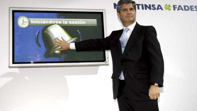 El presidente de la inmobiliaria Martinsa -Fadesa, Fernando Martín Álvarez. (EFE)