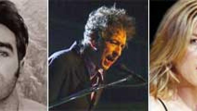 Pereza, Morrisey, Bob Dylan, Diana Krall y Caetano Veloso.