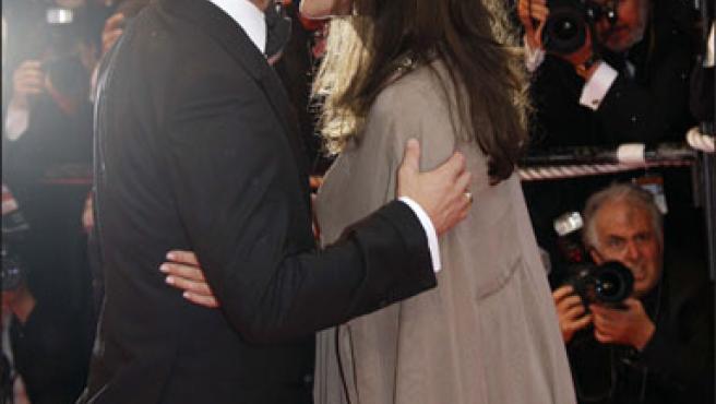 Angelina Jolie y Brad Pitt, en el último festival de Cannes (Foto: KORPA).