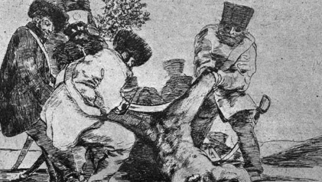 Goya es uno de los pintores que mejor ha sabido retratar el horror de la guerra.ARCHIVO/20MINUTOS.