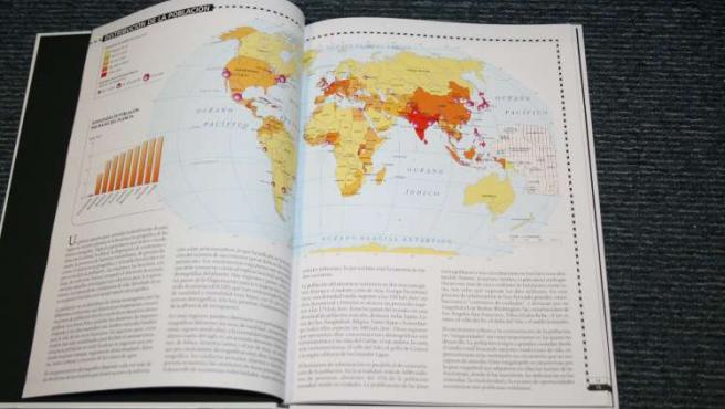 Atlas Mundial de la Salud, presentado hoy en el Ministerio de Sanidad y Consumo (Madrid).