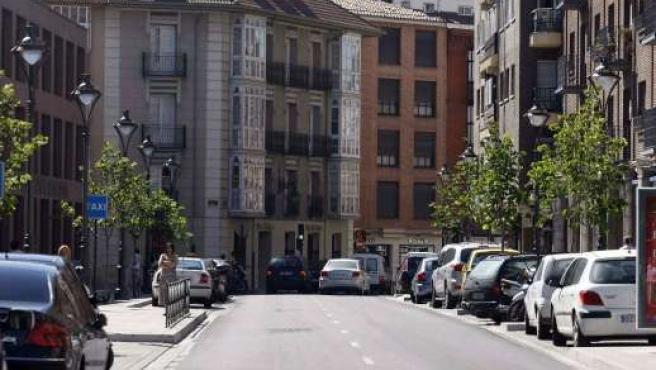 Vista de la calle Angustias tras su remodelación.