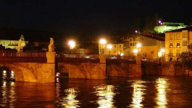 El Ebro a su paso por Miranda. (FLICKR )